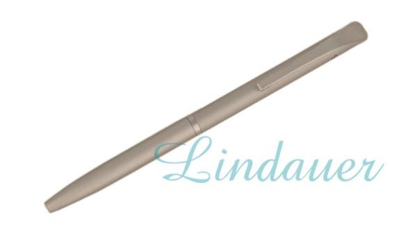 Mini-Kugelschreiber in chrome