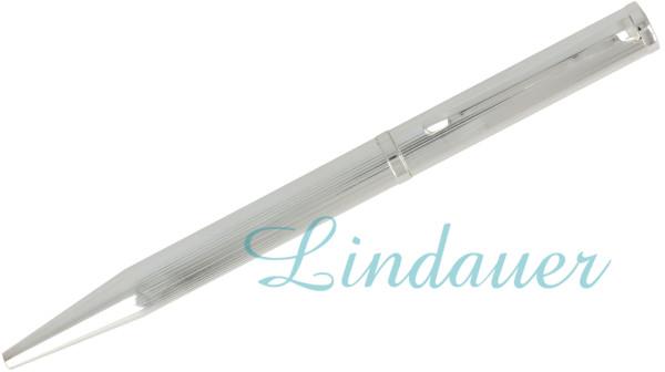 Kugelschreiber versilbert