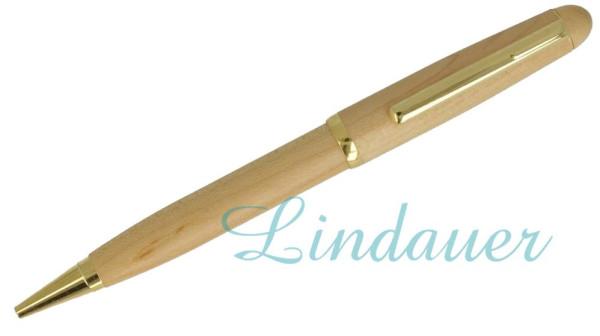 Holzkugelschreiber.