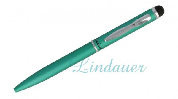 Mini-Kugelschreiber Touch grün