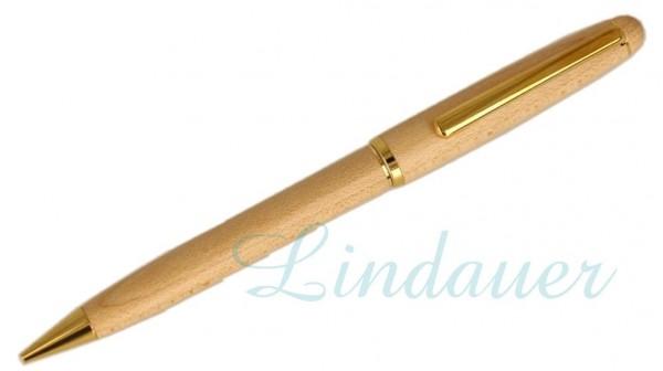 Bleistift aus Ahornholz, extra schlanke Ausführung