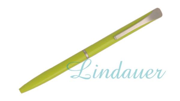 Mini-Kugelschreiber in grün