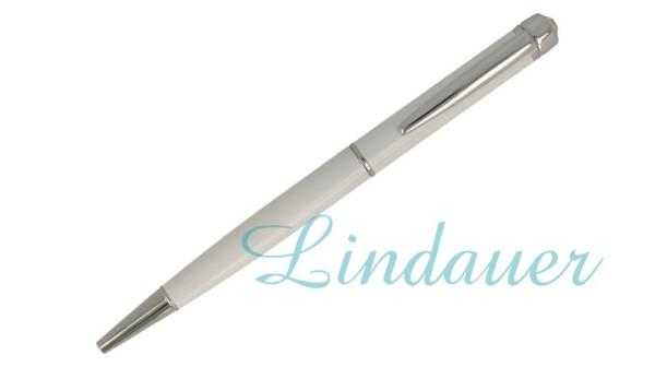 KL128.2 Kugelschreiber; weiß