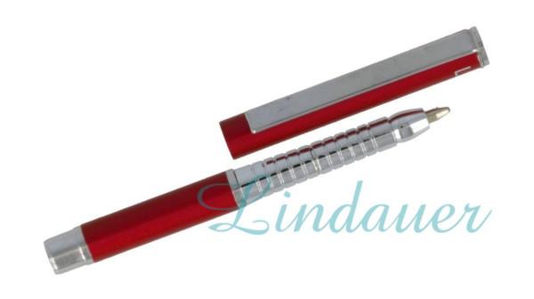 Mini Metall-Kugelschreiber brombeer