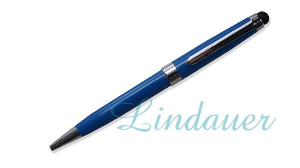 Kugelschreiber mit Touch blau