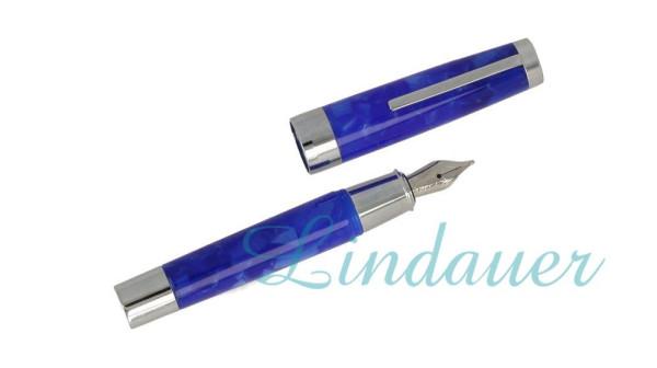 Mini-Füllfederhalter blau