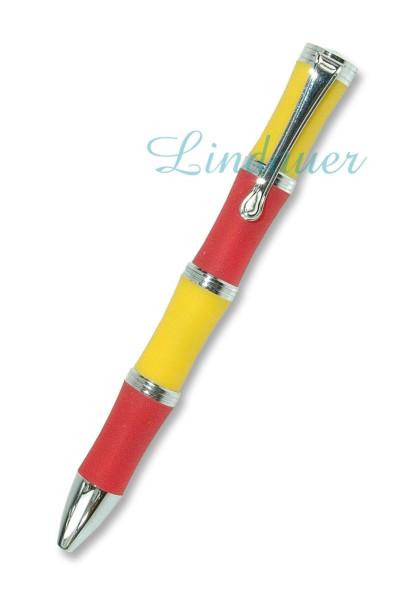 Kugelschreiber rot/gelb