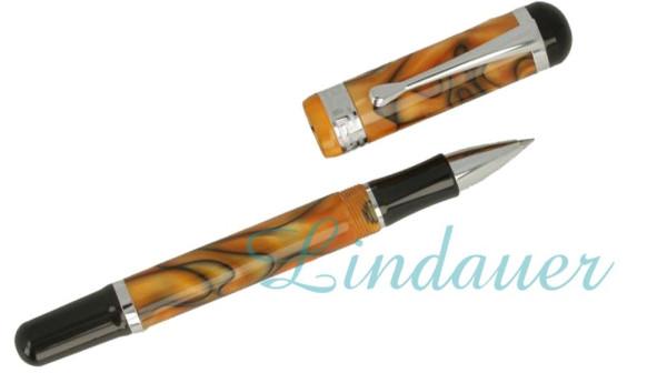 Roller marmoriert: orange