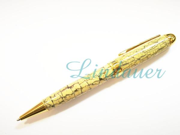 Kugelschreiber aus Kokosnuß.