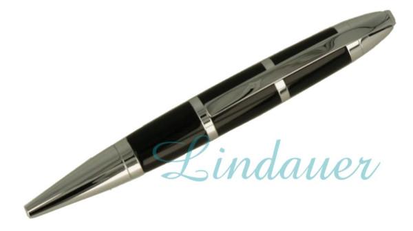 Lindauer Mini Kugelschreiber Acryl schwarz
