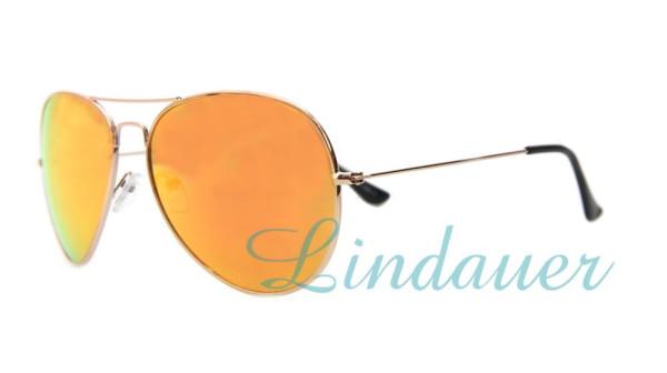 Sonnenbrille, gold