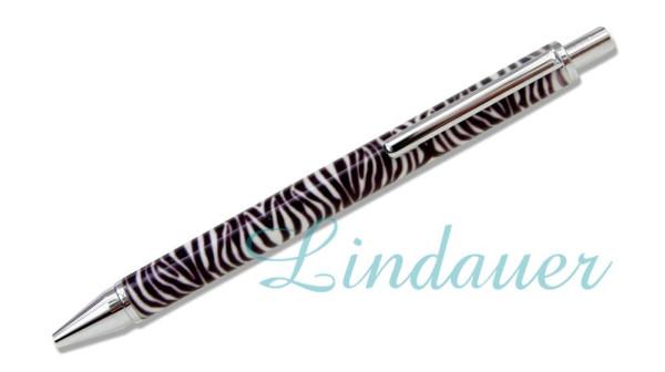 "Lindauer Kugelschreiber ""Animal Print"" Zebra"