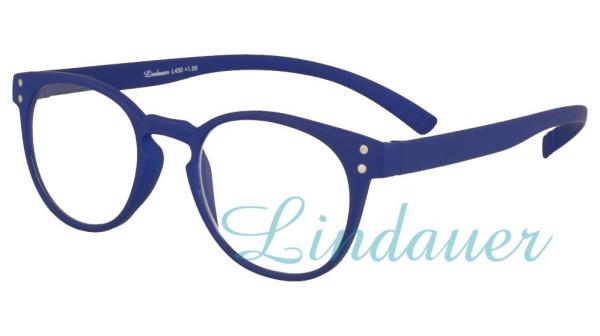Lesehilfe mit langen Bügeln in blau L450