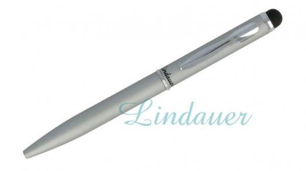 Mini-Kugelschreiber Touch chrom