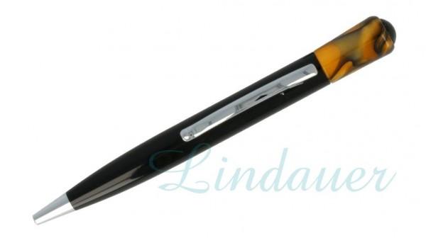 Lindauer Kugelschreiber orange-meliert