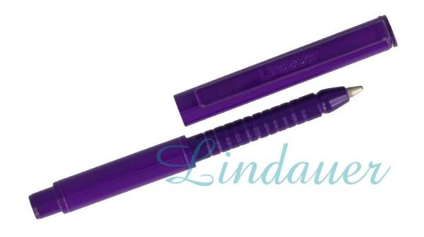 Mini Metall-Kugelschreiber violett