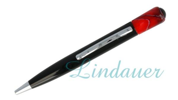 Lindauer Kugelschreiber rot-meliert