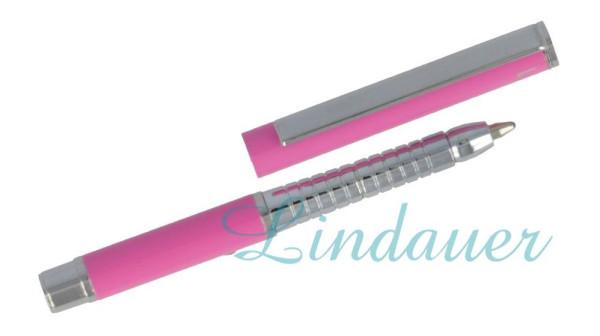 Mini Metall-Kugelschreiber pink