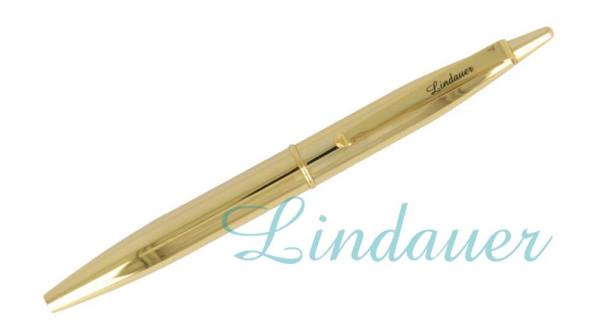 Mini-Kugelschreiber gold-metallic