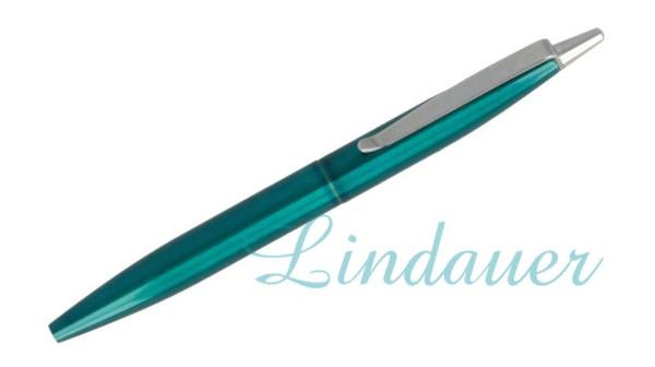 Mini-Kugelschreiber grün-metallic