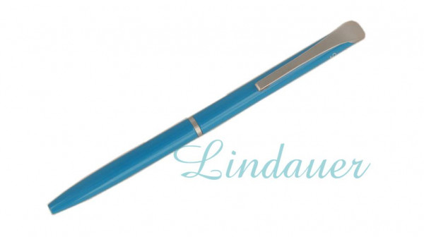 Mini-Kugelschreiber in blau