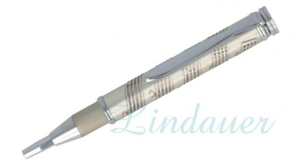 Teleskop Kugelschreiber, mit Notendesign