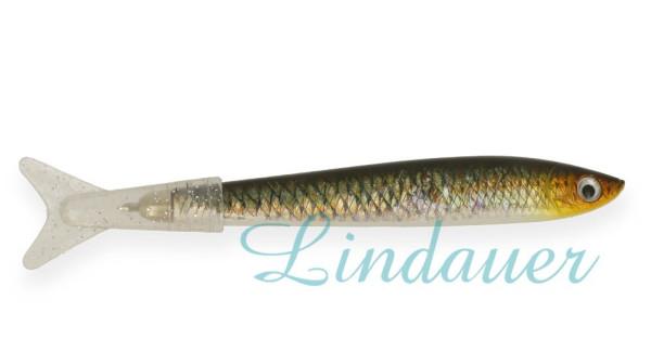 Kugelschreiber, Fisch-Motiv braun-gold