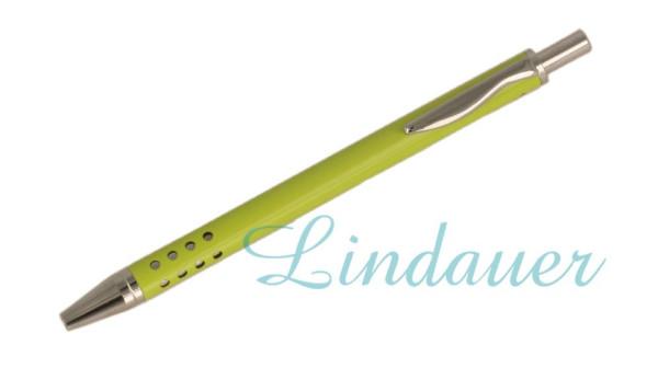 Lindauer Mini-Kugelschreiber grün-glänzend