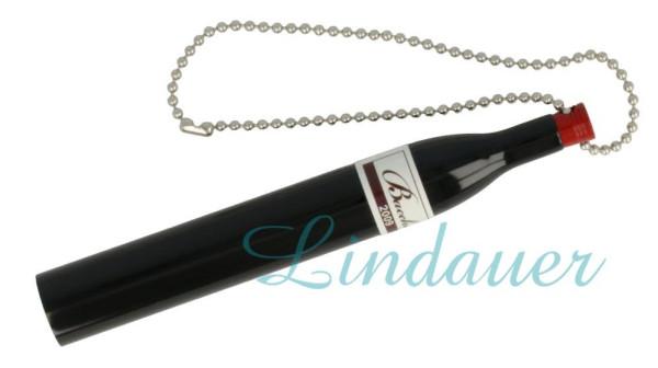 Weinflaschen-Kugelschreiber mit Kette
