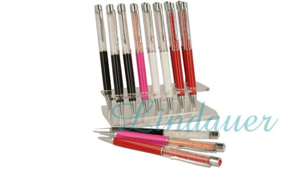Lindauer Kugelschreiber im Verkaufsaufsteller