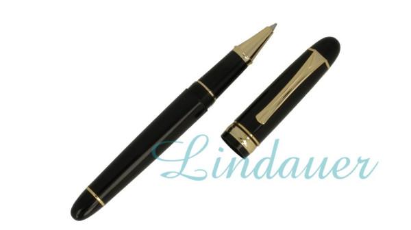 Roller, Klassik-Design; schwarz, gold
