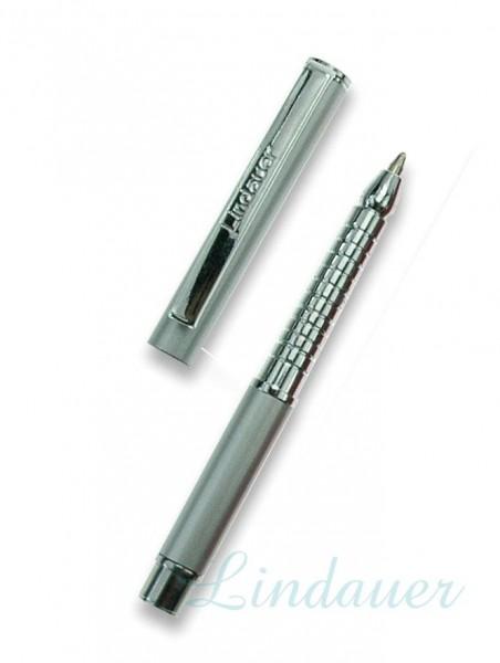 Mini Metall-Kugelschreiber chrom