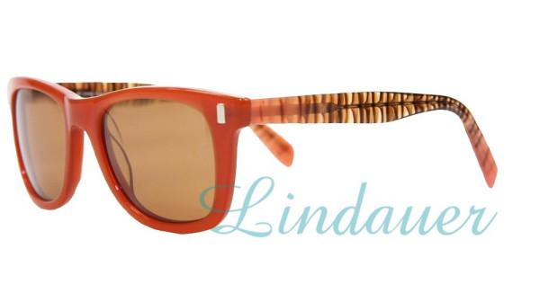 Sonnenbrille, orange