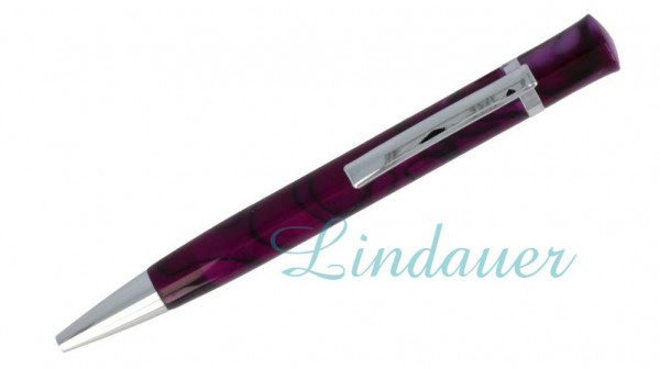 Lindauer Kugelschreiber lila-meliert
