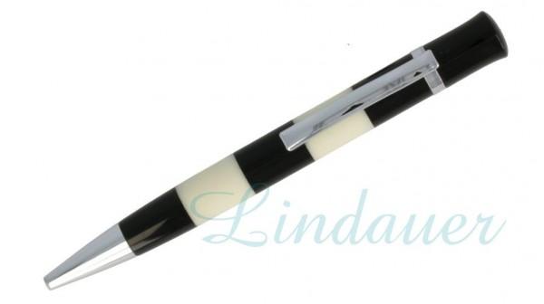 Lindauer Kugelschreiber schwarz und weiß