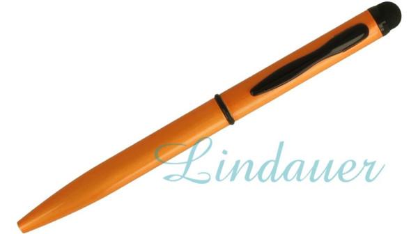 Mini-Kugelschreiber Touch orange