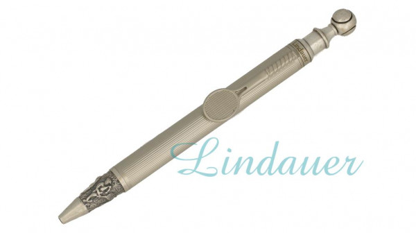TENNIS4 Kugelschreiber,  Antik Silber
