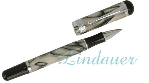 Roller grau-weiss  marmoriert