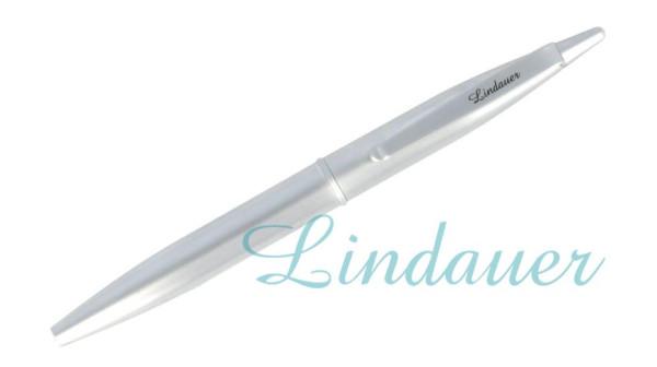 Mini-Kugelschreiber chrom-matt
