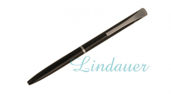 Mini-Kugelschreiber in schwarz