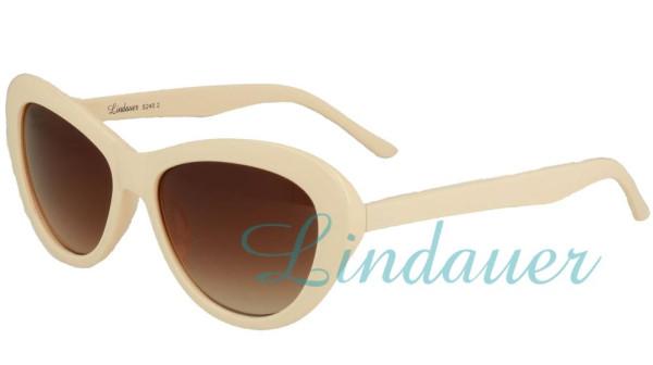 Sonnenbrille in beige