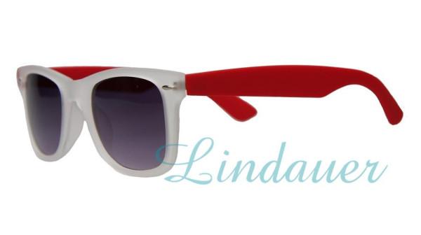 Sonnenbrille, rot