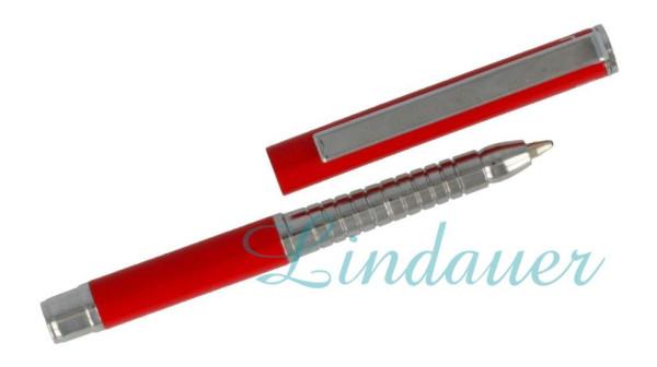 Mini Metall-Kugelschreiber rot