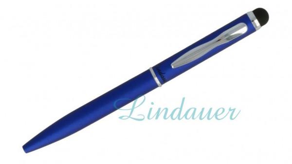 Mini-Kugelschreiber Touch blau