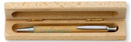 Holzetui, für 1 Schreibgerät