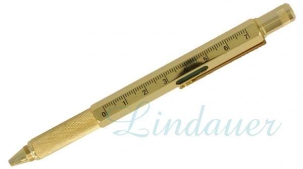 Techniker-Kugelschreiber in gold