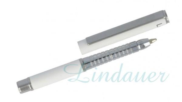 Mini Metall-Kugelschreiber weiß