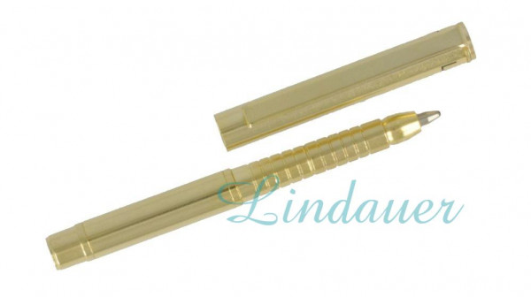 Mini Metall-Kugelschreiber gold