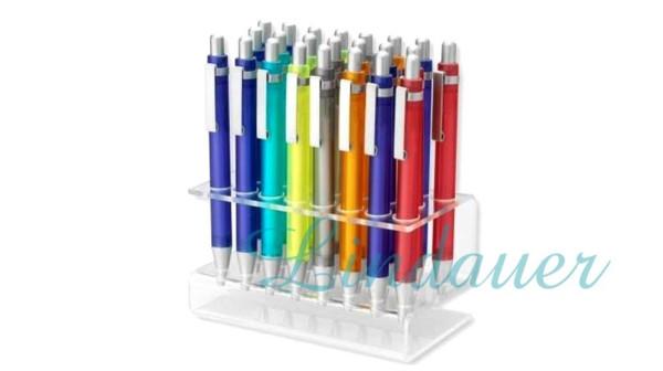 Kugelschreiber im Verkaufsaufsteller