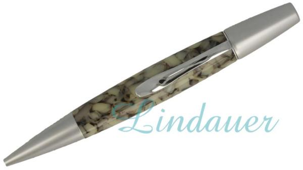 Kugelschreiber marmoriert: perlmutt